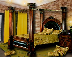 Décoration d'une chambre par Floriane Lemarié