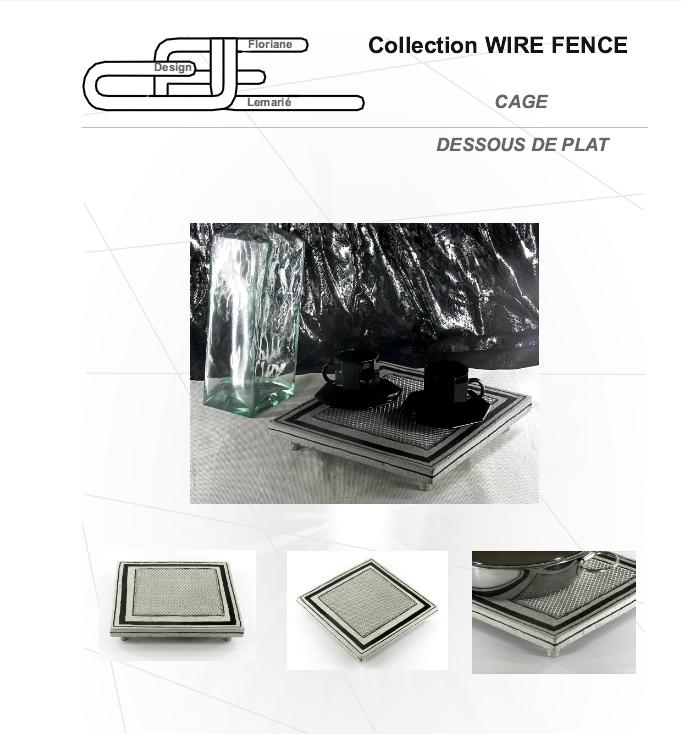 dessous de plat design archives. Black Bedroom Furniture Sets. Home Design Ideas