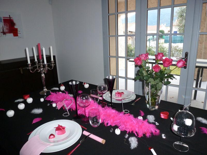 Préparez une belle table pour la saint valentin