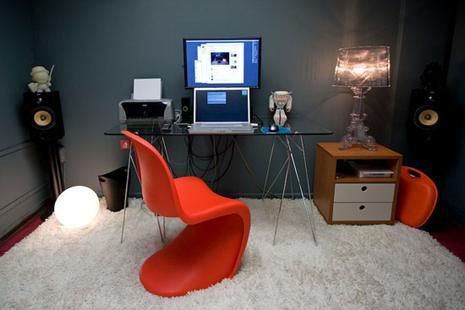 comment am nager et d corer son bureau floriane lemari. Black Bedroom Furniture Sets. Home Design Ideas