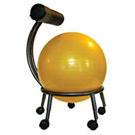 Coup de c ur un ballon sauteur en guise de chaise de for Chaise ballon ergonomique