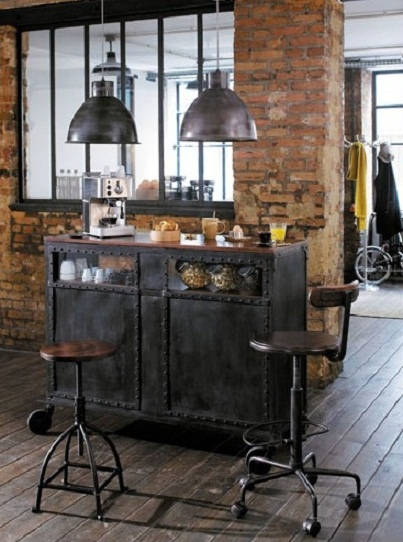 le style industriel dans nos int rieurs floriane lemari. Black Bedroom Furniture Sets. Home Design Ideas