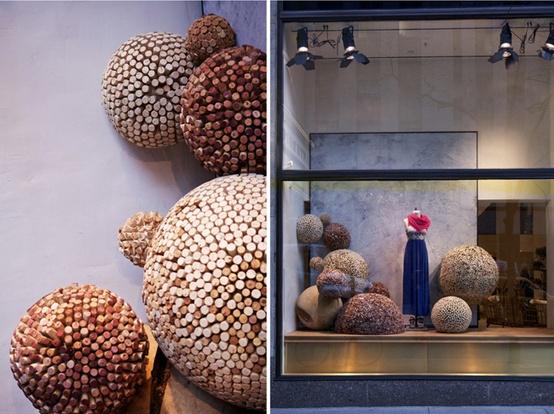 Une d coration merveilleusement bouchonn e floriane - Dessous de plat en bouchon ...