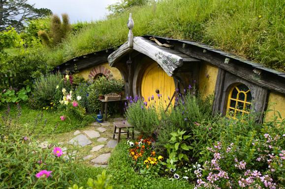 hobbiton le village des hobbits en nouvelle z lande floriane lemari. Black Bedroom Furniture Sets. Home Design Ideas