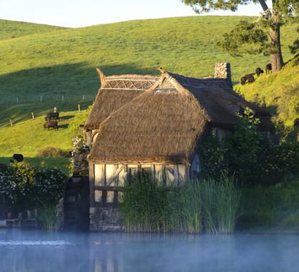 Le village des hobbits