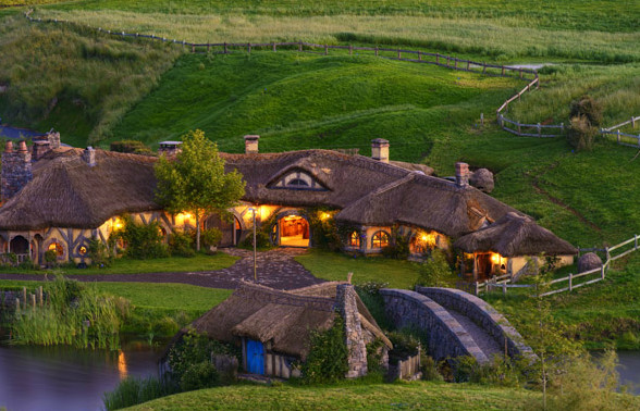 Village des hobbits