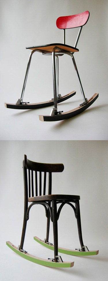 Décoration rocking-chair