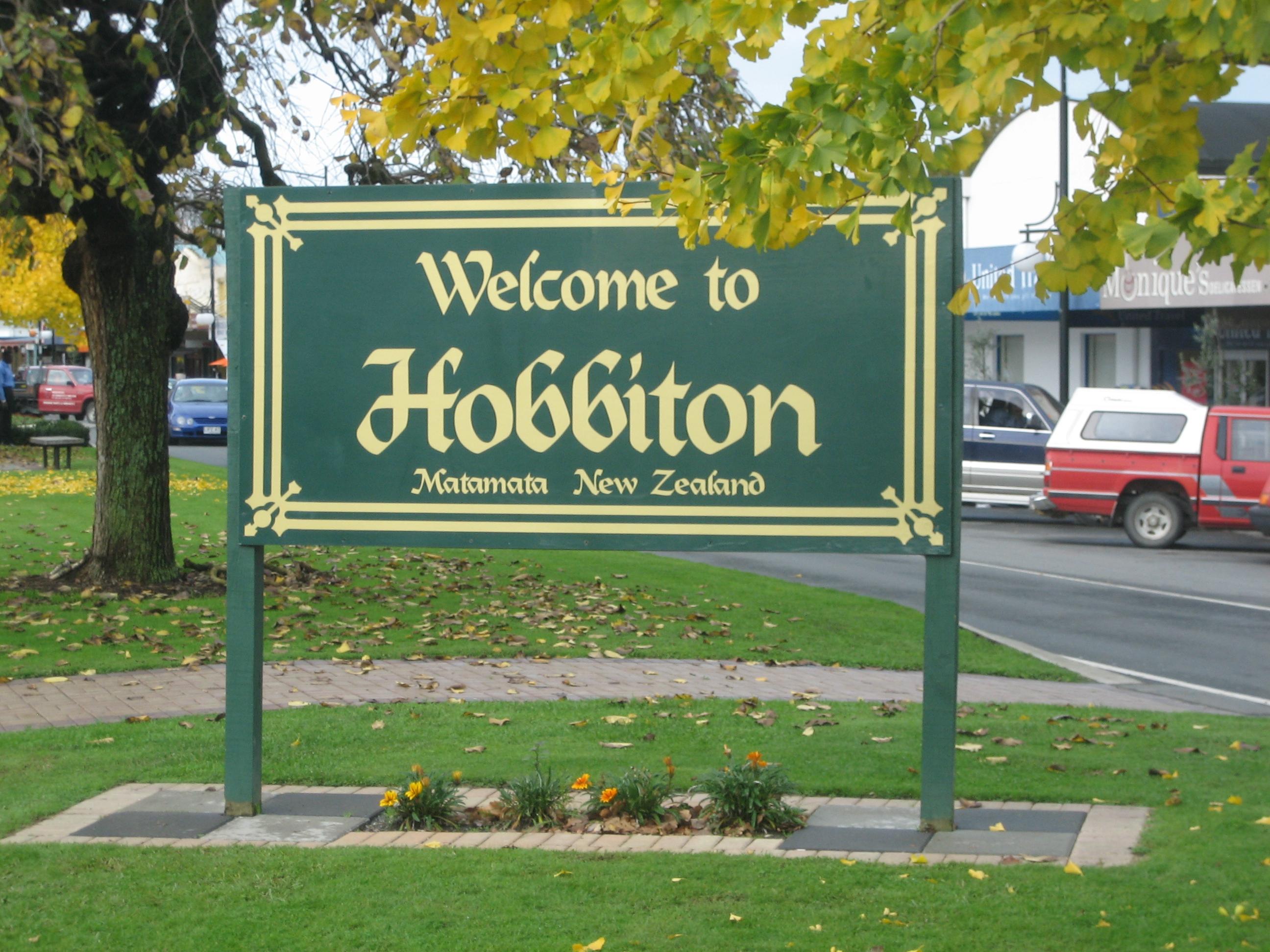 Bienvenue à Hobbiton