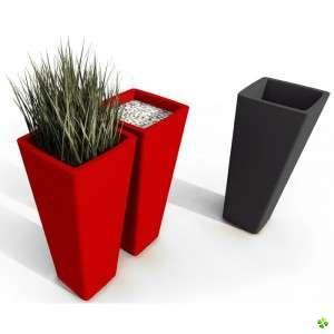 Les plantes aussi se d corent floriane lemari for Cache pot design interieur