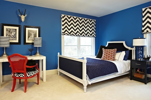 Best Chambre Bleu Et Blanc Images - Home Decorating Ideas ...