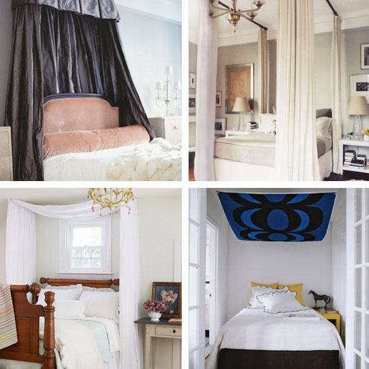 10 idées pour transformer votre lit en baldaquin - floriane lemarié