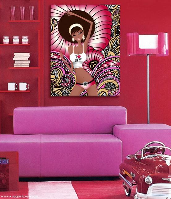 Décoration pop art