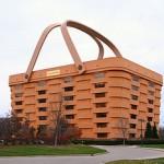 Un immeuble en forme de panier