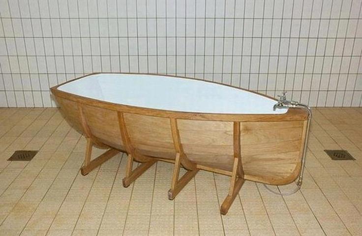 La d co prend son bain floriane lemari Baignoire coloree