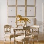 Une décoration en or: idées d'intérieurs
