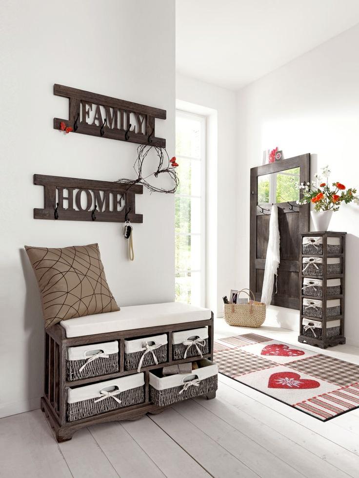 D corer avec des paniers floriane lemari for Decoration murale rotin
