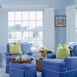 le bleu, idées d'intérieurs