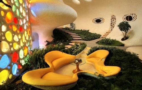 Une maison Nautilus inspirée des coquillages