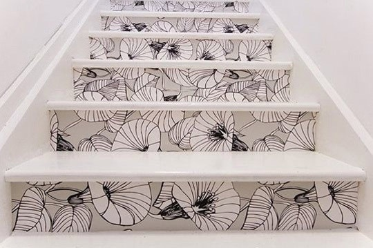 Les marches d\'escalier jouent la déco ! - Floriane Lemarié