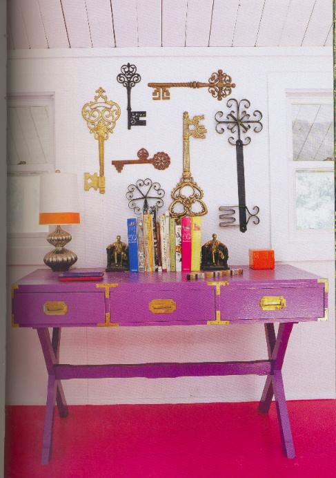 décoration clés