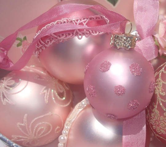 No l voit la vie en rose floriane lemari for Decoration de noel rose