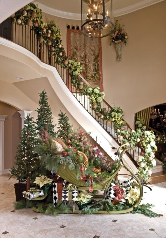 Escalier de Noël