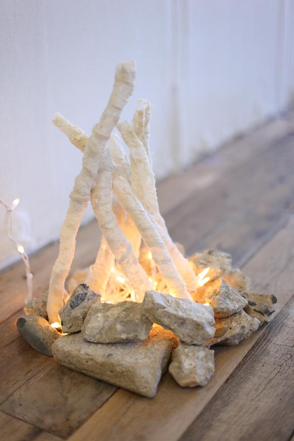 Décoration feu