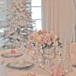 Décors de table de Noël