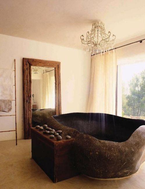 Décoration baignoire