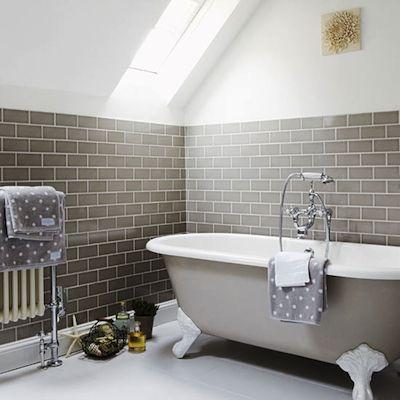 Le carrelage du m tro r volutionne la d co floriane lemari - Salle de bain carrelage metro ...
