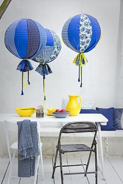DIY décoration luminaires