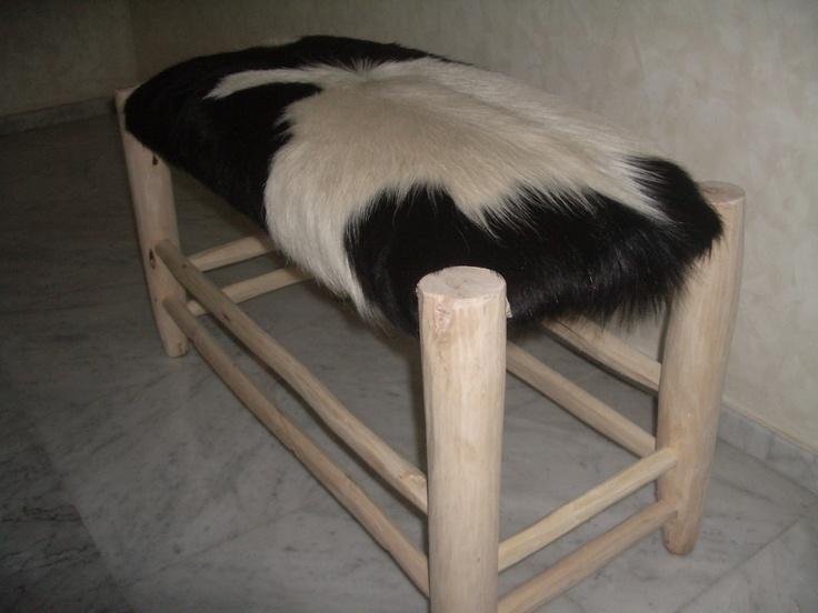 Décoration peaux de bêtes