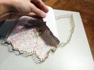 Diy fabriquer une carte du lieu de votre rencontre pour - Carte saint valentin a fabriquer ...