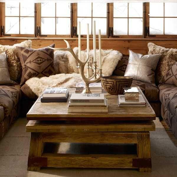 ambiance chalet la d co a du charme floriane lemari. Black Bedroom Furniture Sets. Home Design Ideas