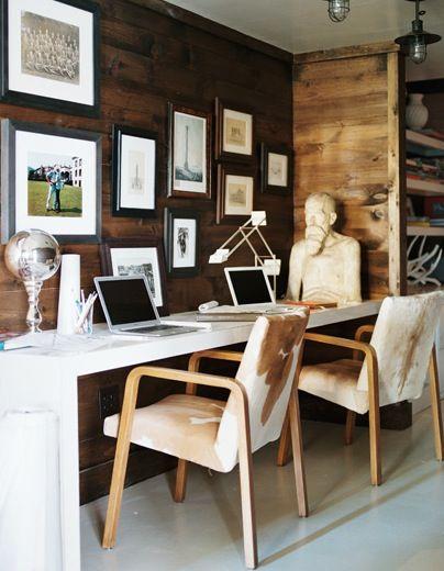Ambiance chalet la d co a du charme floriane lemari - Deco bureau design contemporain ...