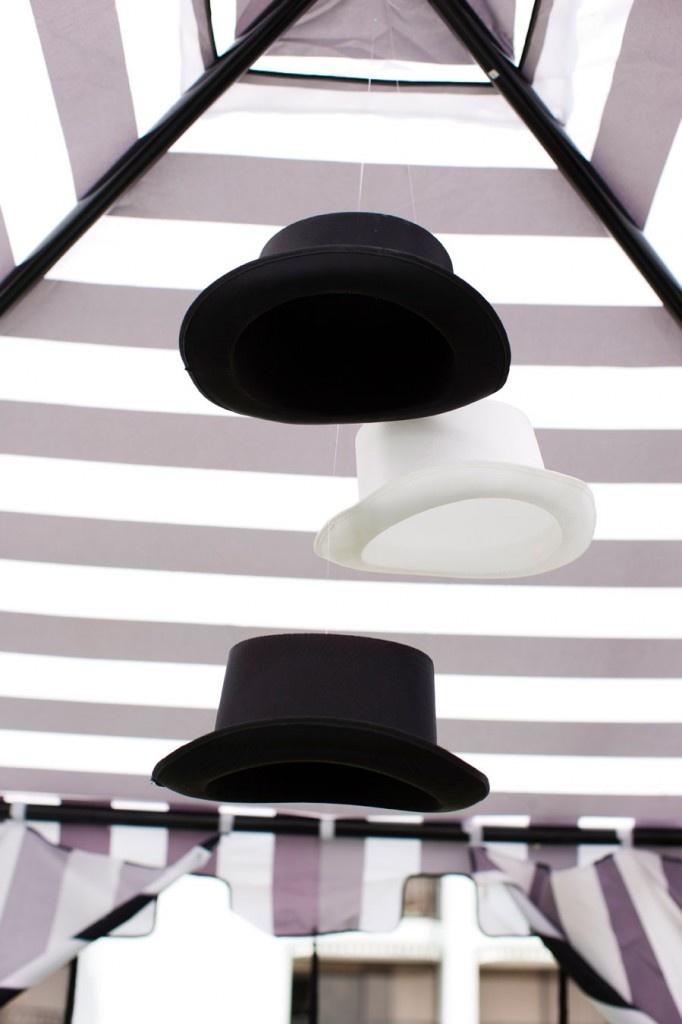 Décoration chapeau