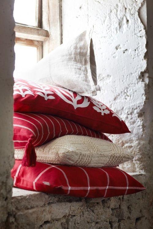 La d co en rouge et blanc floriane lemari - Le rouge et le blanc ...