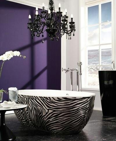 d cors luxueux en violet et noir floriane lemari. Black Bedroom Furniture Sets. Home Design Ideas