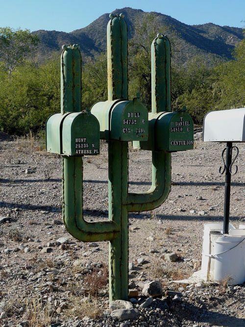 Décoration boîte aux lettres