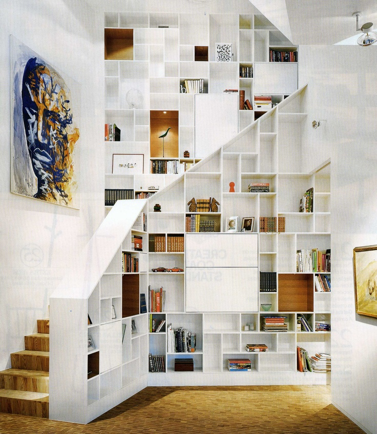 l 39 escalier est aussi un espace de rangement floriane lemari. Black Bedroom Furniture Sets. Home Design Ideas