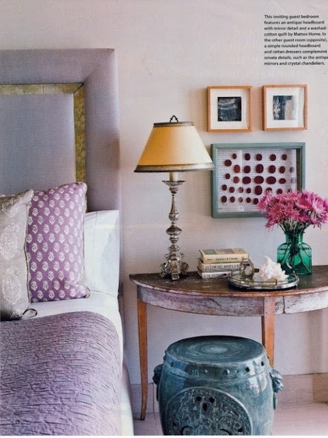 au printemps on d core couleur lilas floriane lemari. Black Bedroom Furniture Sets. Home Design Ideas
