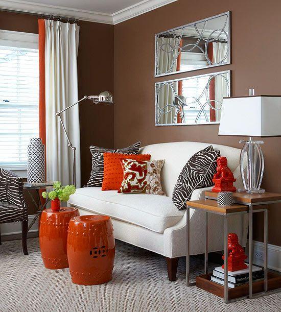 Décoration orange