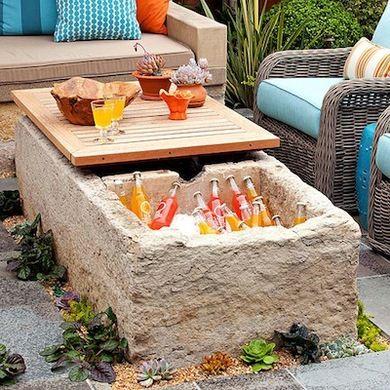 Des tables de jardin originales - Floriane Lemarié