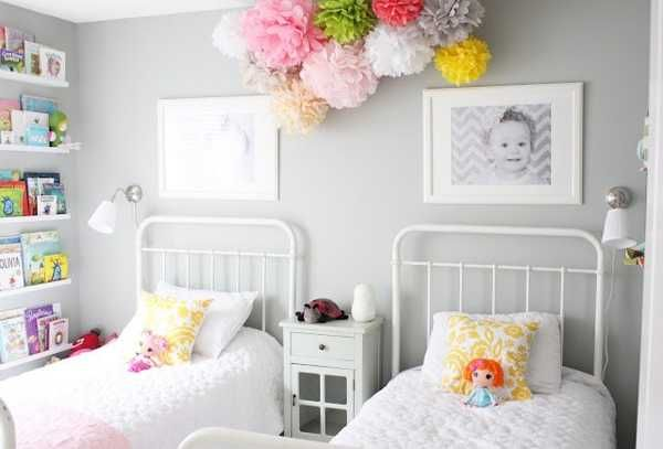 11 id es de chambres pour deux enfants floriane lemari. Black Bedroom Furniture Sets. Home Design Ideas