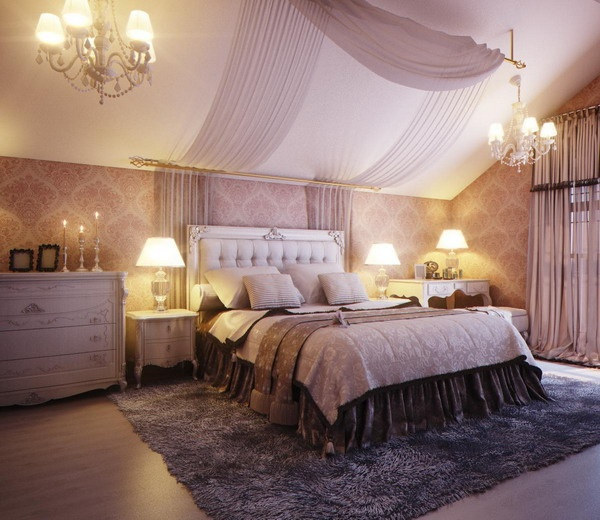 du violet et du rose pour une chambre toute en f minit floriane lemari. Black Bedroom Furniture Sets. Home Design Ideas