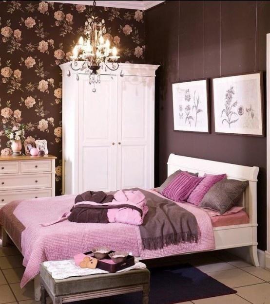 Du violet et du rose pour une chambre toute en f minit - Camera ragazza idee ...