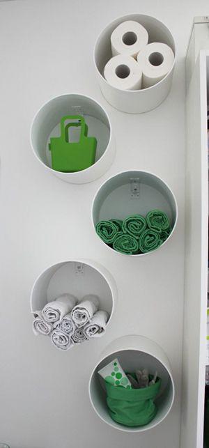 Décoration DIY cylindre de rangement