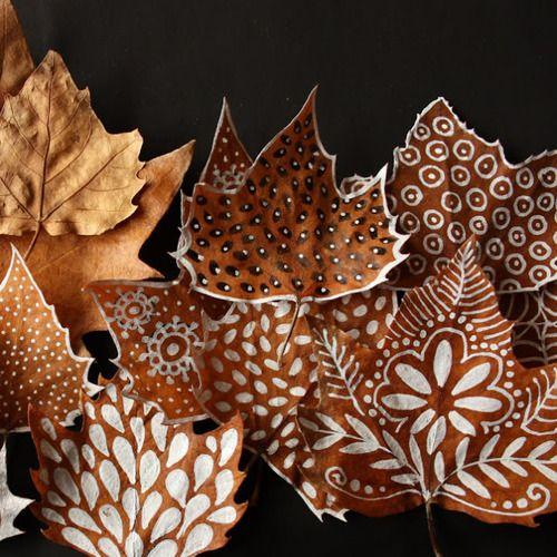c 39 est l 39 automne d corez avec des feuilles floriane lemari. Black Bedroom Furniture Sets. Home Design Ideas