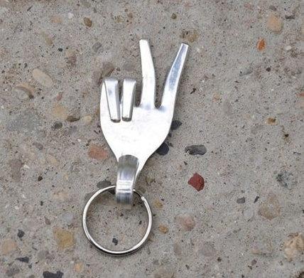 DIY objet déco avec une fourchette