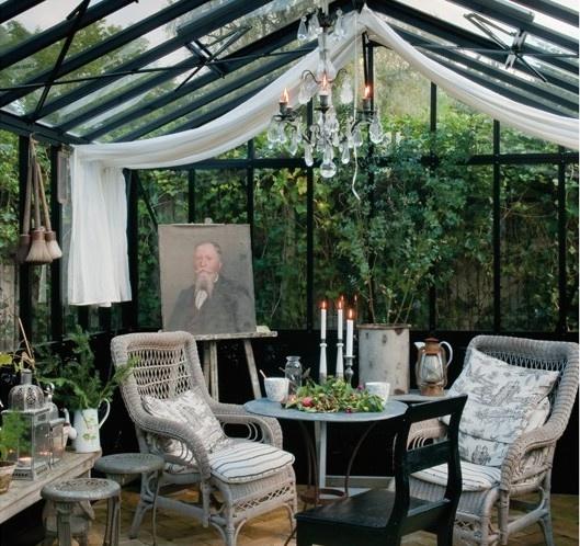 Le jardin d 39 hiver un jardin dans la maison en toutes for Jardin anglais en hiver